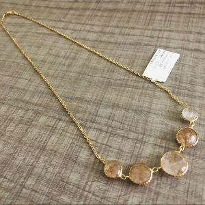 92.5% Silver Necklace Gold Plated.